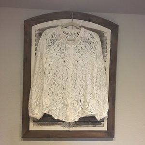 Spell & the Gypsy Collective Ivory Lace Blouse